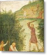 Cephalus Punished At The Hunt Metal Print