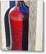 Ceramic Vase Metal Print