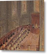 Ceremony Of Ordination At Lyon Cathedral Metal Print