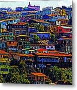 Cerro Valparaiso Metal Print