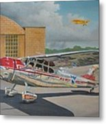 Cessna 195 Metal Print