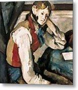 Cezanne, Paul 1839-1906. The Boy Metal Print