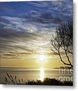 cf 519 A Sunset Over Monterey Bay Metal Print