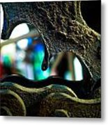 Chain And Sprocket A Love Story Metal Print by Tyler Lucas
