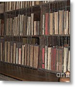 Chained Library At Hereford Cathedral Metal Print