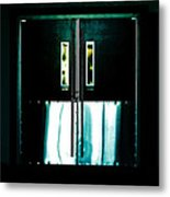 Chained Shut Metal Print