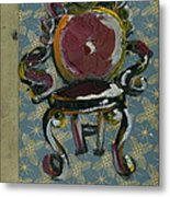Chair Fetish '98 Metal Print by Cathy Peterson