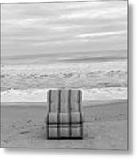 Chair Metal Print by Thomas Leon