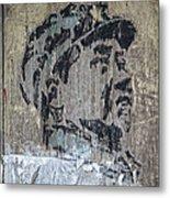 Chairman Mao Portrait Metal Print