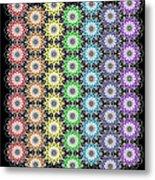 Chakra Healing Grid Metal Print