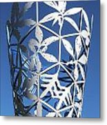 Chalice Sculpture Metal Print