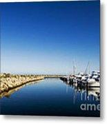Challenger Harbour Of Fremantle Metal Print