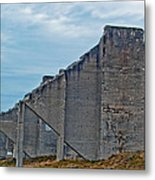 Chambers Bay Architectural Ruins Metal Print