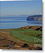 Chambers Bay Golf Course - University Place - Washington Metal Print