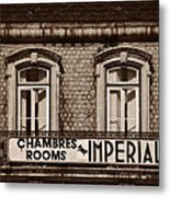 Chambres Imperial Lisbon Metal Print