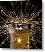Champagne Celebration Metal Print