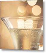 Champagne Celebration Metal Print by Kim Fearheiley