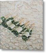 Champagne Cooling Metal Print