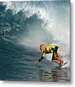 Champion At Pipeline Masters  Metal Print