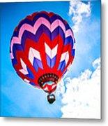 Champion Hot Air Balloon Metal Print