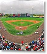 Champion Stadium II Metal Print by C H Apperson