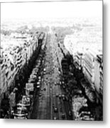 Champs Elysees - Paris Metal Print