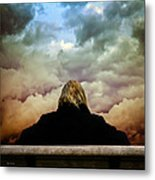 Chance Of Rain First Panel  No Umbrella Metal Print