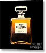 Chanel No. 5 Metal Print