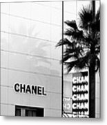 Chanel On Rodeo Drive Metal Print