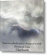 Change Of Worlds Metal Print
