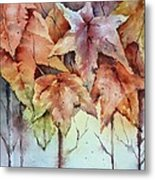 Changing Colors Metal Print by Bobbi Price