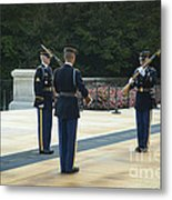 Changing Of The Guard Metal Print