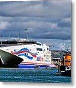 Channel Islands Ferry Metal Print