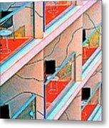 Channeling Mondrian  Metal Print
