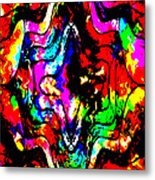 Chaos In My Mind Metal Print