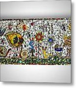 Chaos In The Park Metal Print