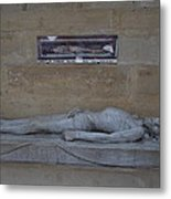 Chapel At Les Invalides - Paris France - 01132 Metal Print