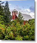 Chapel At The Antique Rose Emporium Metal Print
