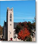 Chapel At The College Of The Ozarks Metal Print