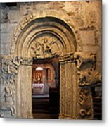 Chapel Entrance Metal Print