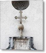 Chapel Entrance Detail Metal Print