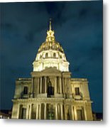 Chapel In Paris Metal Print