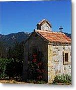 Chapel In The Vineyard Metal Print