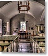 Chapel In Wales Metal Print