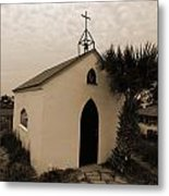 Chapel Mood Metal Print