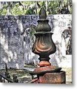 Chapel Of Ease St Helena Island Metal Print