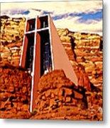 Chapel Of The Holy Cross  Metal Print