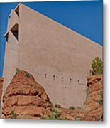 Chapel Of The Holy Cross Sedona Az Side Metal Print