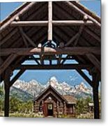 Chapel Of The Transfiguration Metal Print