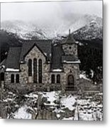 Chapel On The Rock - 3 Metal Print